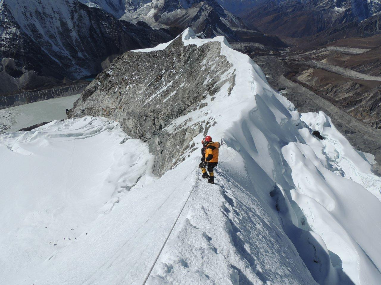 Image result for island peak climbing